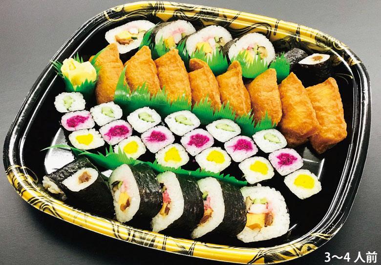 お持ち帰り春の巻き寿司