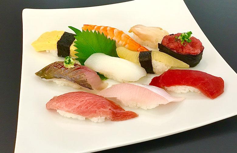 おまかせ寿司セット彩