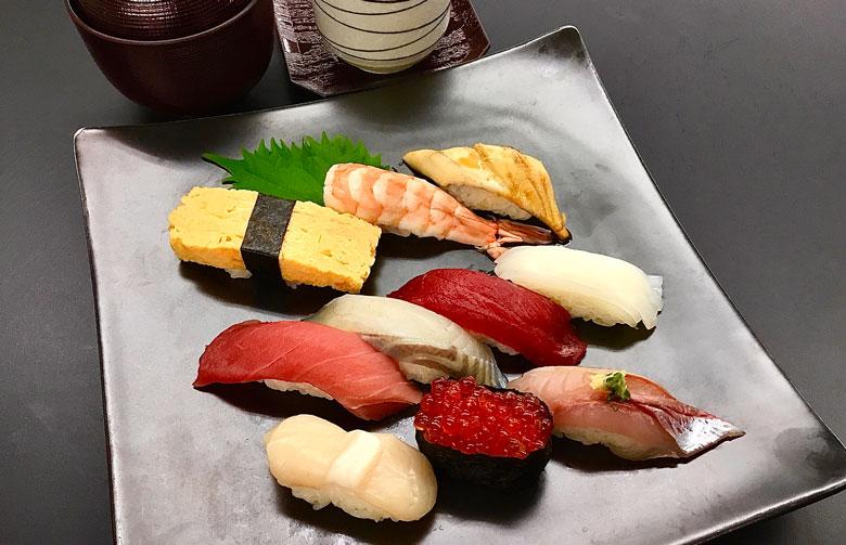 おまかせ寿司セット霞