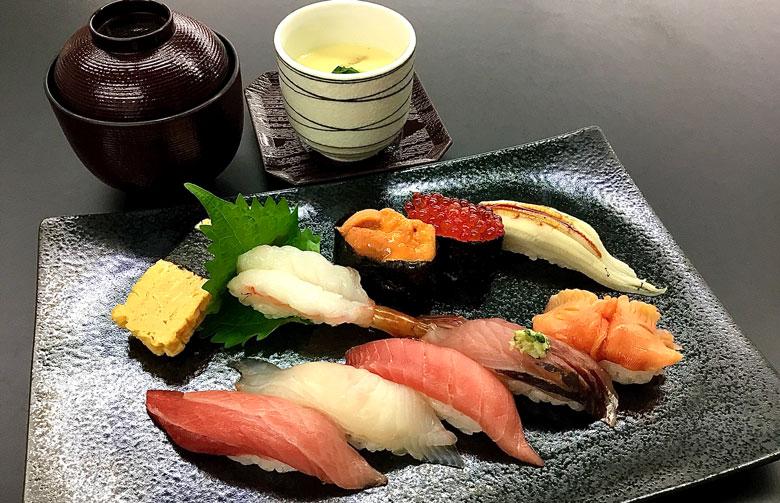 おまかせ寿司セット雅